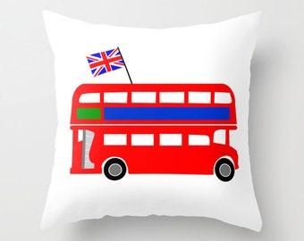 BRIT BUS #Pillow