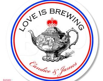 British Tea Party Stickers
