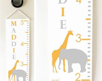 Elephant & Giraffe Growth Chart