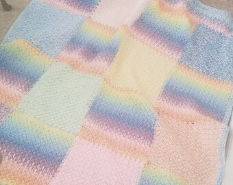 rainbow kawaii cute blanket