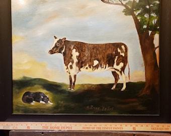A Prize Heifer