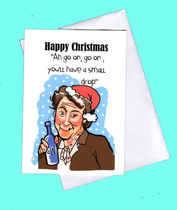 Funny christmas card fr ted father ted card irish etsy image 0 m4hsunfo