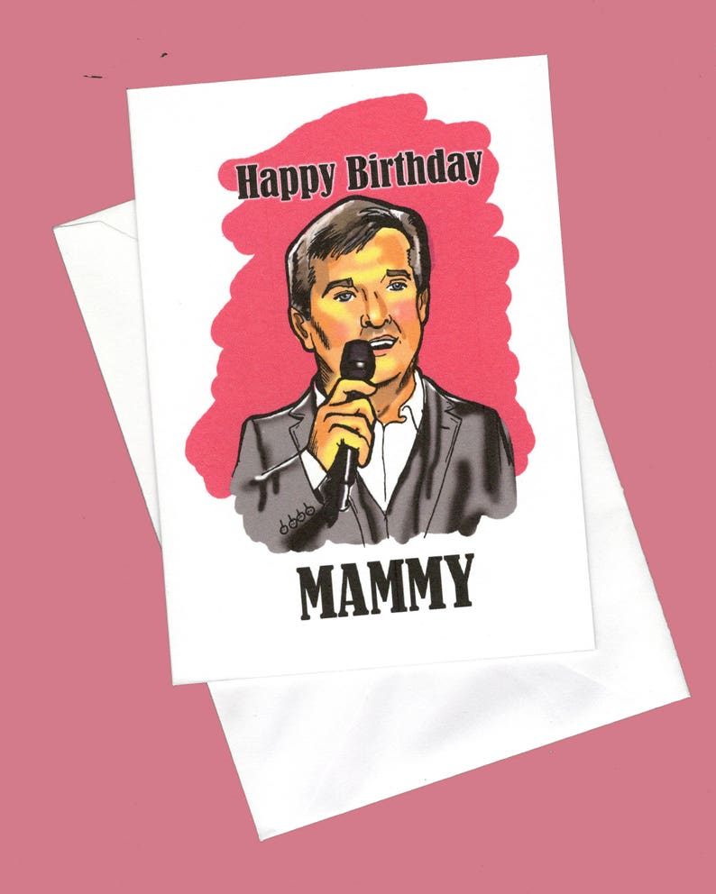 Happy Birthday Mammy Cheesy Card Funny