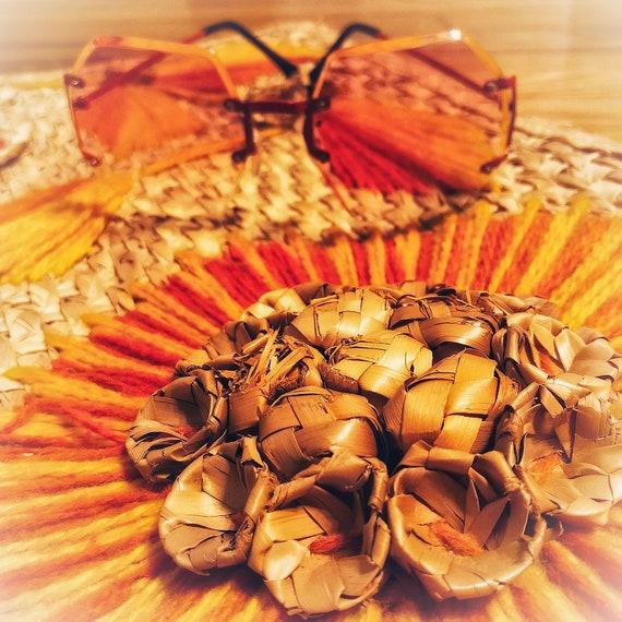 mod red sunglasses / metal frame sunglasses / 60s… - image 6
