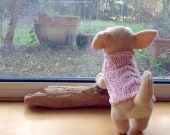 Cani di piccole taglia Merino cappotto cappotto cucciolo maglione Chihuahua  100% merino lana cappotto cani di piccola taglia maglione caldo cucciolo  regalo ... 4d8f8087f754