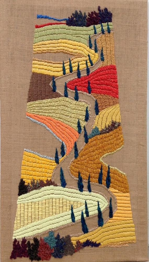 OOAK Tapestry Fiber wall art Large wall art Wall tapestries | Etsy