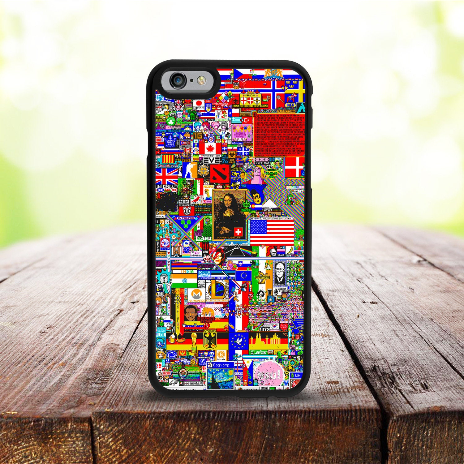 new product f7ed9 95483 Reddit r/place iPhone X/XS Case, iPhone 7 Plus Case, iPhone 7 Case, iPhone  6 Case, iPhone 6 Plus Case, iPhone SE Case