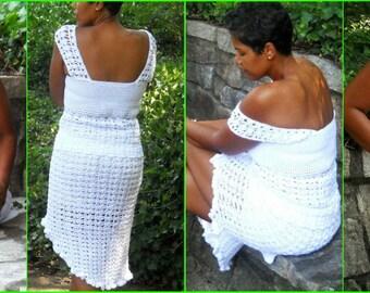 Crochet Skirt Pattern Bella Crochet Skirt Bella Plus | Etsy