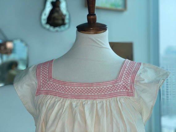 1900 Nightgown Redesigned - Cotton Nightgown - Vi… - image 3