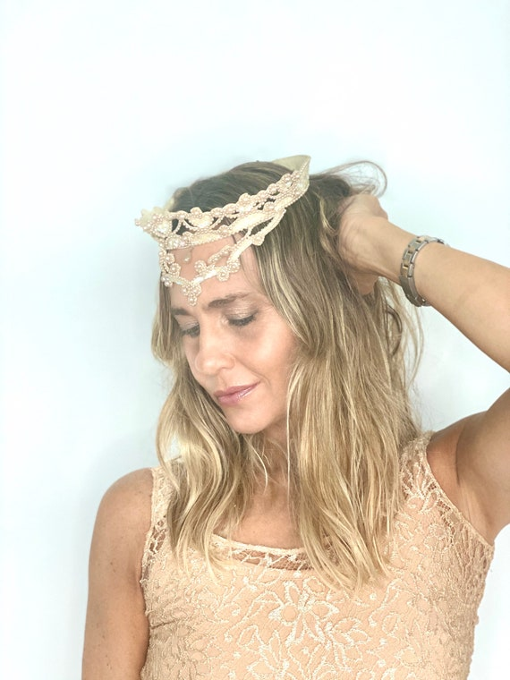 Vintage Wedding Head Piece - Vintage Wedding Tiara