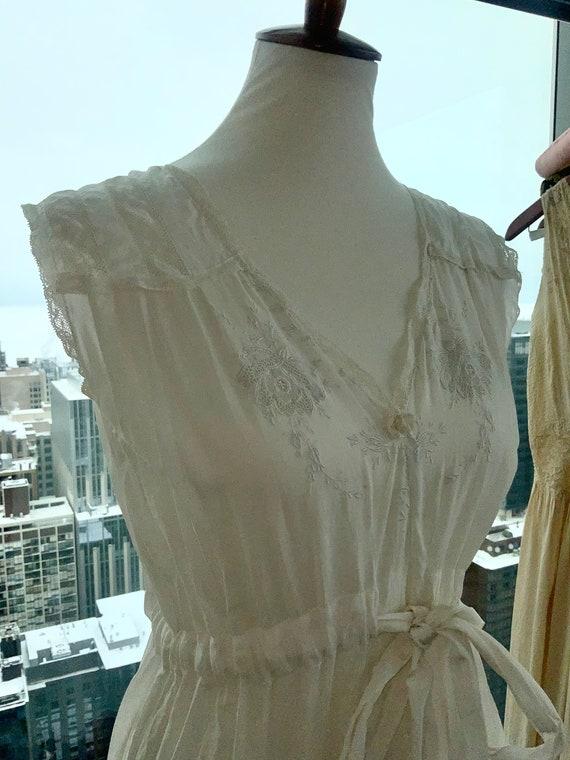 Edwardian Day Dress - Edwardian White Cotton Day … - image 6