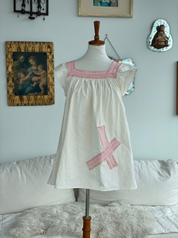 1900 Nightgown Redesigned - Cotton Nightgown - Vi… - image 5