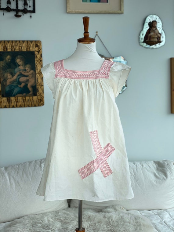 1900 Nightgown Redesigned - Cotton Nightgown - Vin