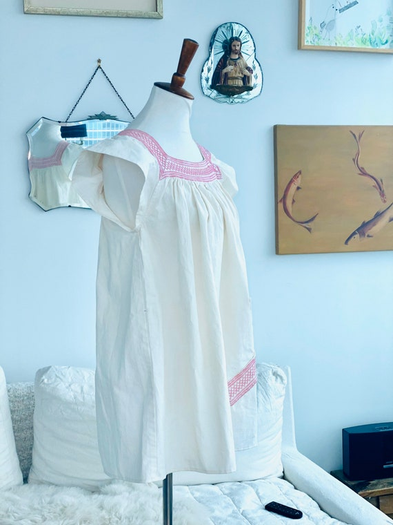 1900 Nightgown Redesigned - Cotton Nightgown - Vi… - image 10