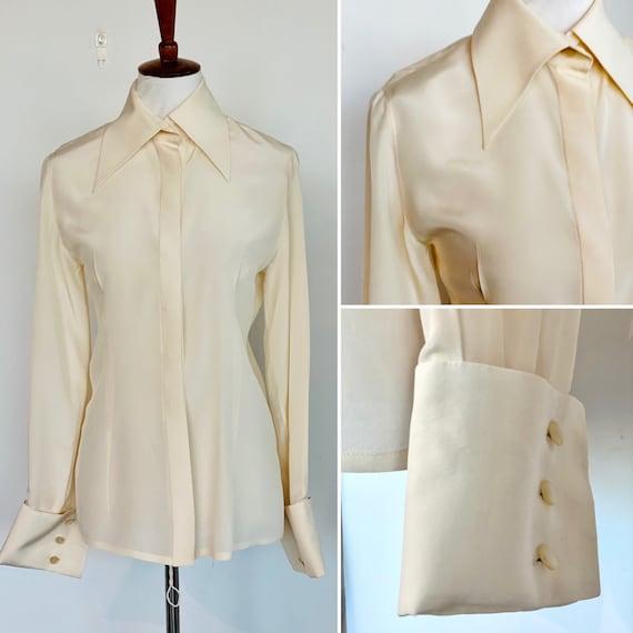 Balenciaga Silk Blouse - Balenciaga Blouse - vinta