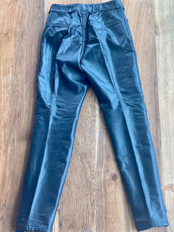 90s Leather Pant  - 90s Leather Trouser - Vintage… - image 6