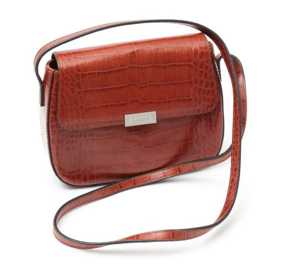 Ralph Lauren Crossbody Bag - Leather Crossbody Bag