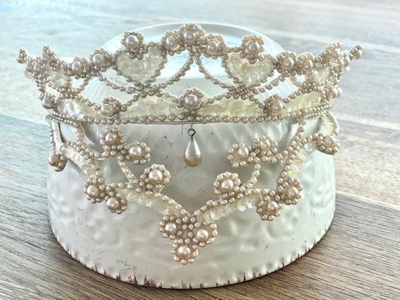Vintage Wedding Head Piece - Vintage Wedding Tiara