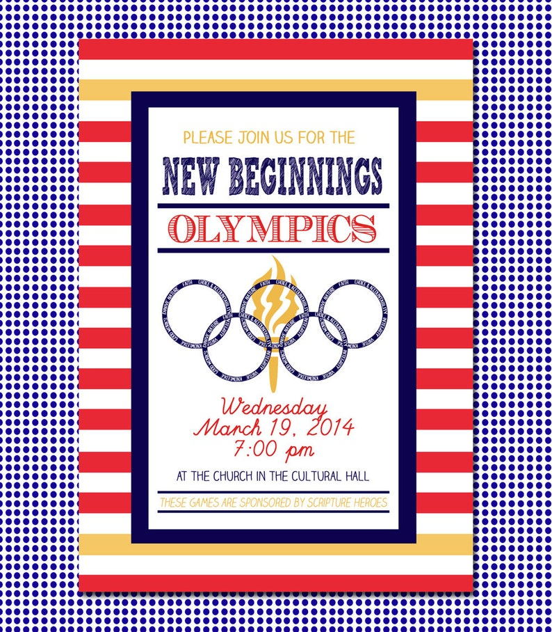 image about Printable Olympic Schedule identified as LDS Printable Olympic Clean Beginnings Youthful Women of all ages within Excellence Invitation
