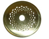 Vented 4 quot Brass Heat Vase Cap for Stained Glass Lamp Shades