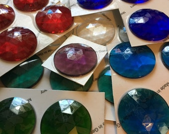 62x30mm Rose Oval Stained Glass Jewels Crystal By Stallings Stained Glass