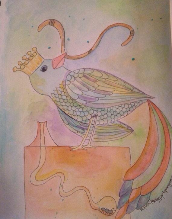 Rainbow Sparrow King