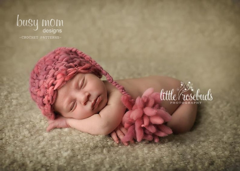 Crochet Pattern - Land of Nod Sleeper Cap - Easy/Beginner Hat Pattern by Busy Mom Designs