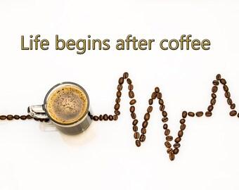 Coffee accent art photos