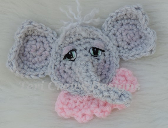 Elephant Crochet Patterns – Cute Toys - A More Crafty Life   436x570