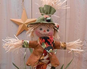 Harvest Scarecrow Raggedy Doll 83 Pdf E Pattern Fall Etsy