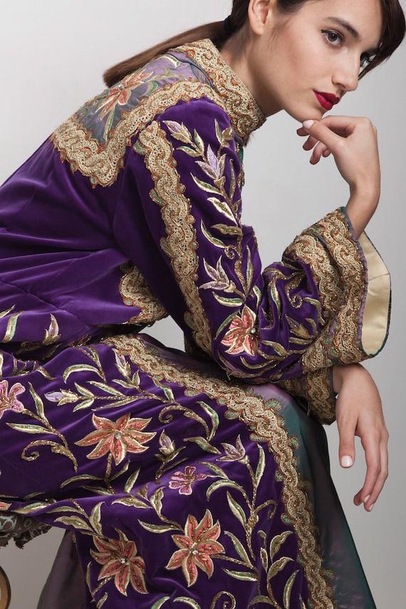 renaissance dress XL, heavy beading dress, heavily