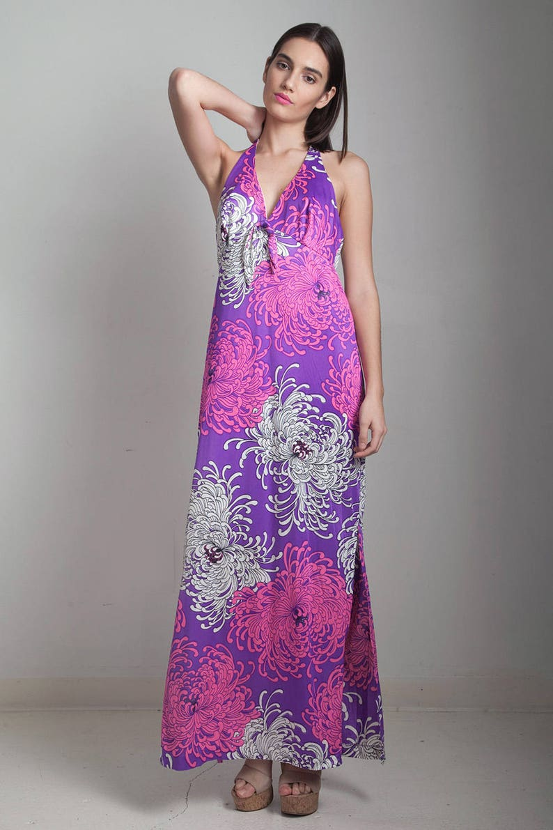 2ec40ddf3a3 Pink Halter Top Maxi Dress