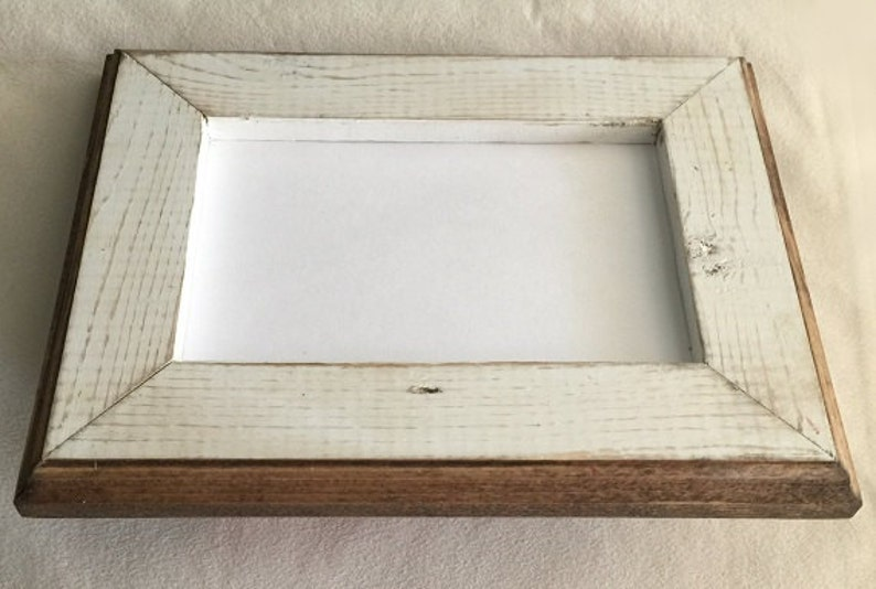 Our  1 Best Seller 8 x 8 Picture Frame Rustic Weathered image 1