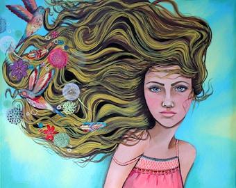 Dream Again-  11x14  Giclee print