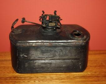 Antique Arlington Dressel Railroad Switch Lamp, Vintage R/R Caboose Lantern