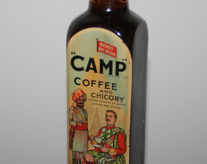 Vintage Bottle: Camp Coffee and Chicory; R. Paterson & Sons