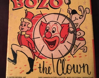 Vintage Bozo the Clown 8mm Film Reel