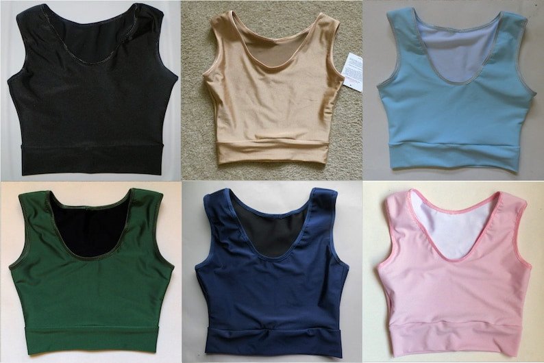 Leolines Llc Second Skin Made For Transgender Men Ftm F2m Binder Top To Flatten Chest Size A B Or C Cup Teen To Adult Sizes