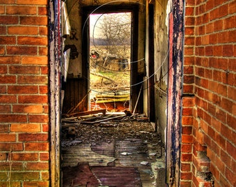 Looking In And Out - Fine Art Photograph
