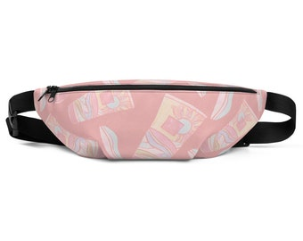 Pink Summer Fanny Pack