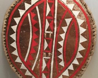 Antique tribal shield