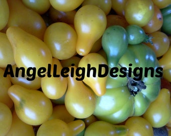 Digital download Green & Yellow Tomatoes kitchen