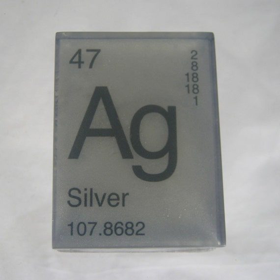 In your element periodic table soap silver ag vegan etsy image 0 urtaz Image collections