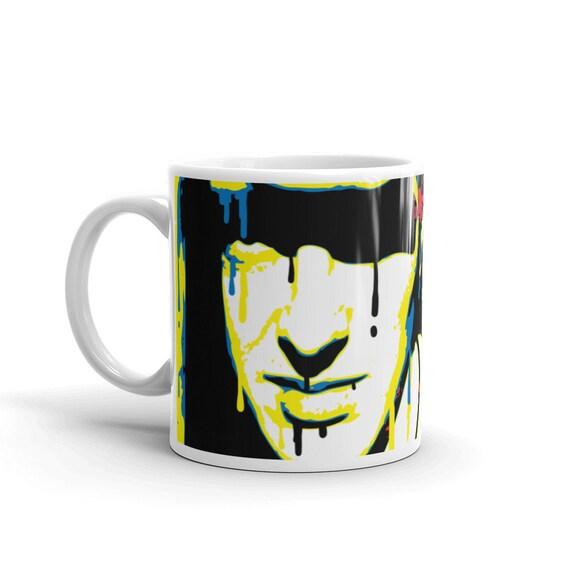 Joe Strummer Punk Rock Pop Art Coffee Mug