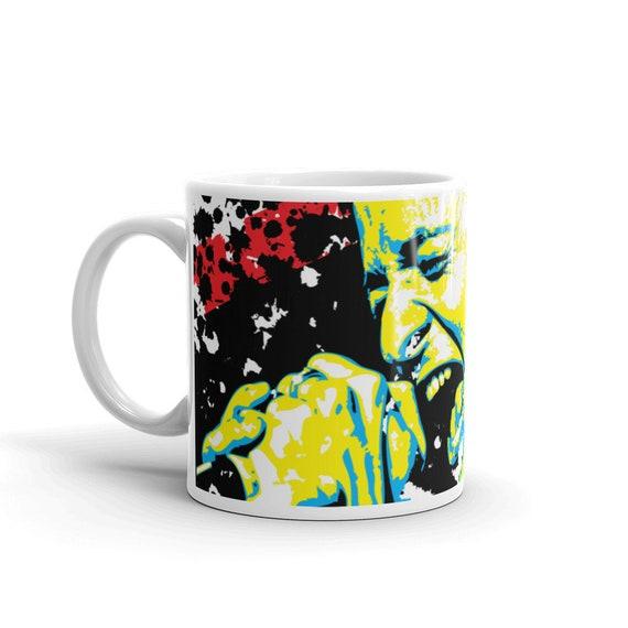 Chester Bennington Linkin Park Pop Art Coffee Mug