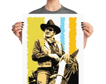 John Wayne True Grit Western Pop Home Wall Decor Art Prints