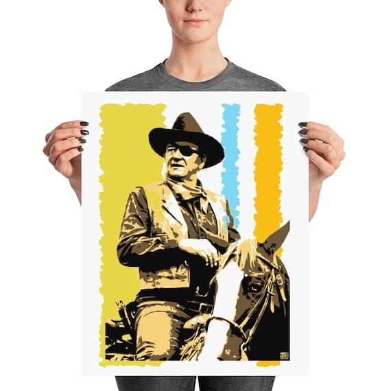 John Wayne True Grit Western Pop Home Wall Decor Art Prints
