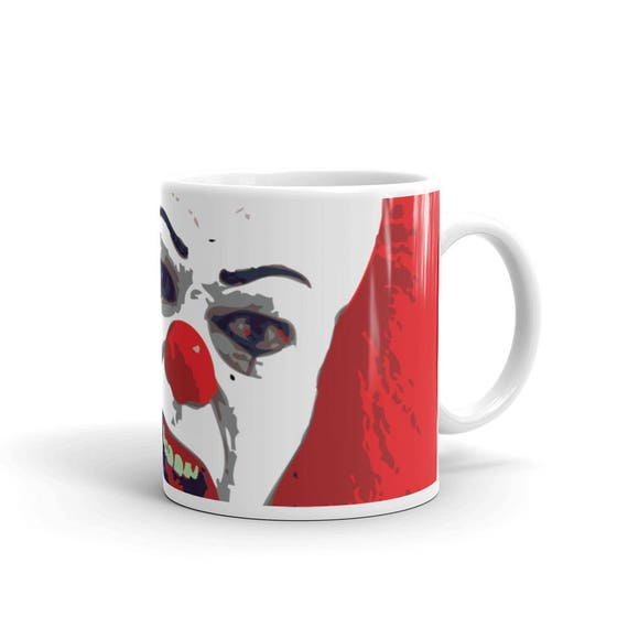 It Pennywise the Clown Pop Art Horror Coffee Mug