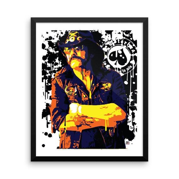 Music pop art prints - The COLORBLiND ARTiST