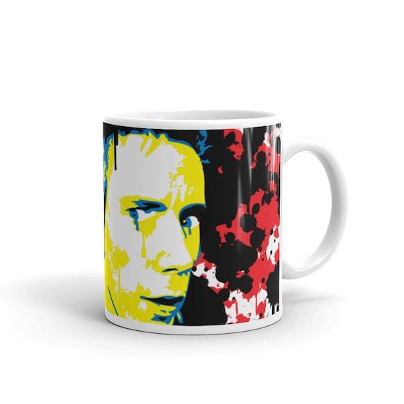 Johnny Rotten Sex Pistols Pop Art Coffee Mug